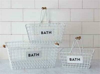 Lg Bath Basket