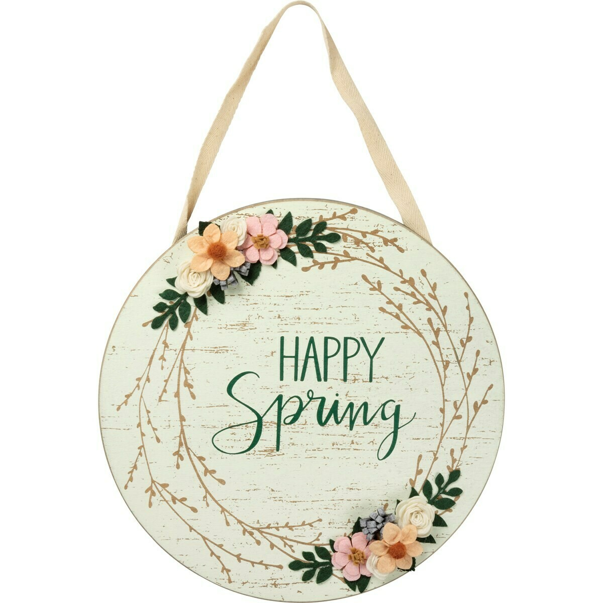 Happy Spring Wall Hanging