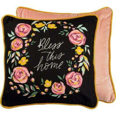 Bless This Home Pillow