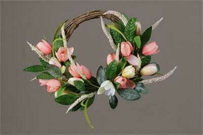 Tulip Twig Wreath