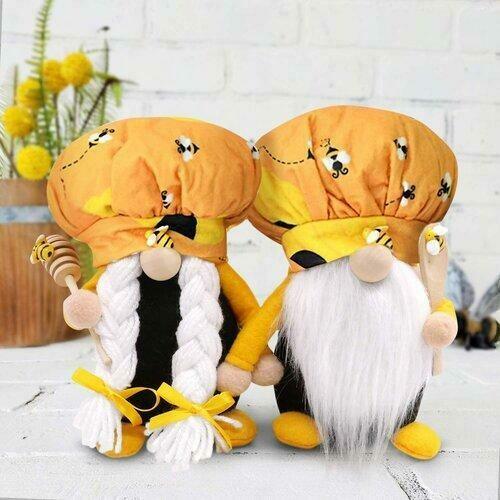 Mrs. Honey Bee Gnome