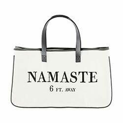 Namaste Canvas Tote