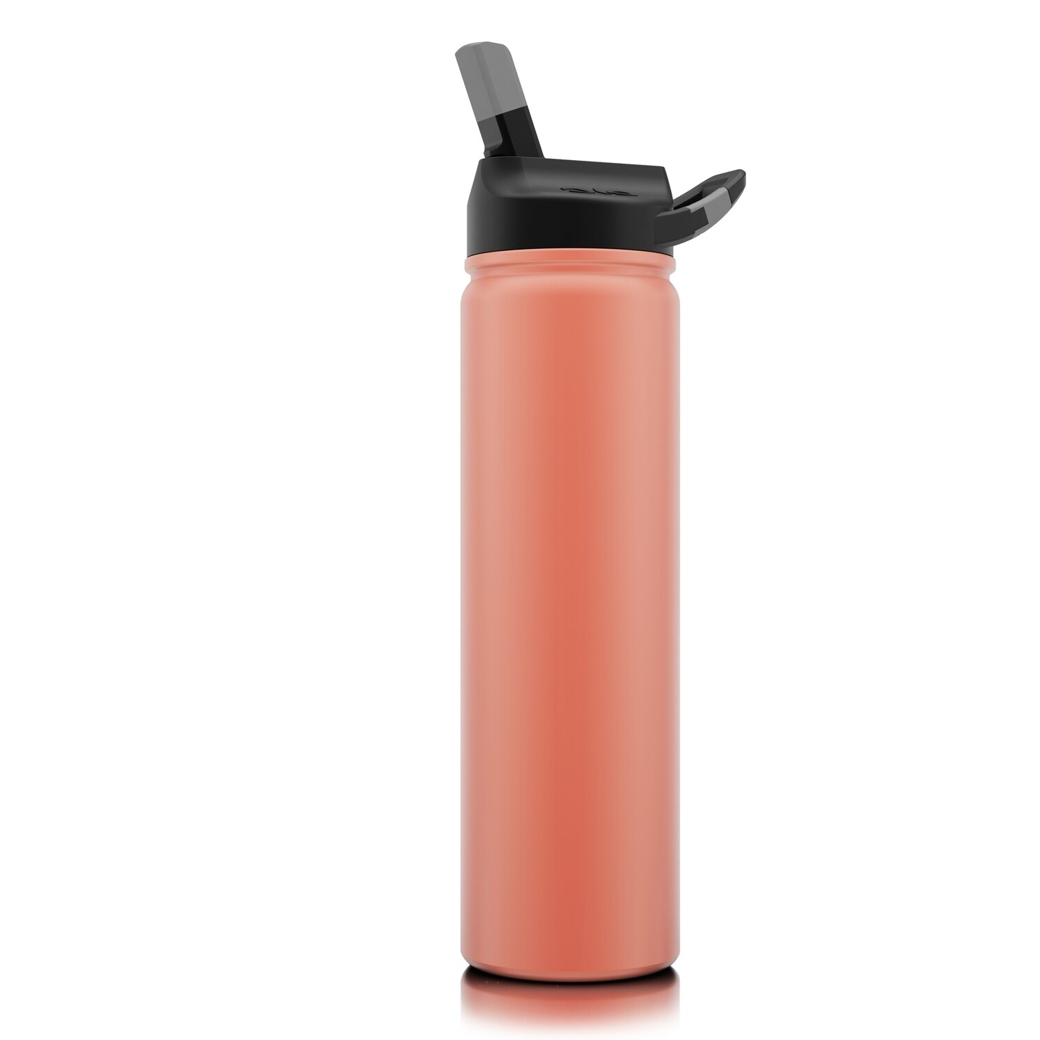 Matte Coral Stainless Water Bottle