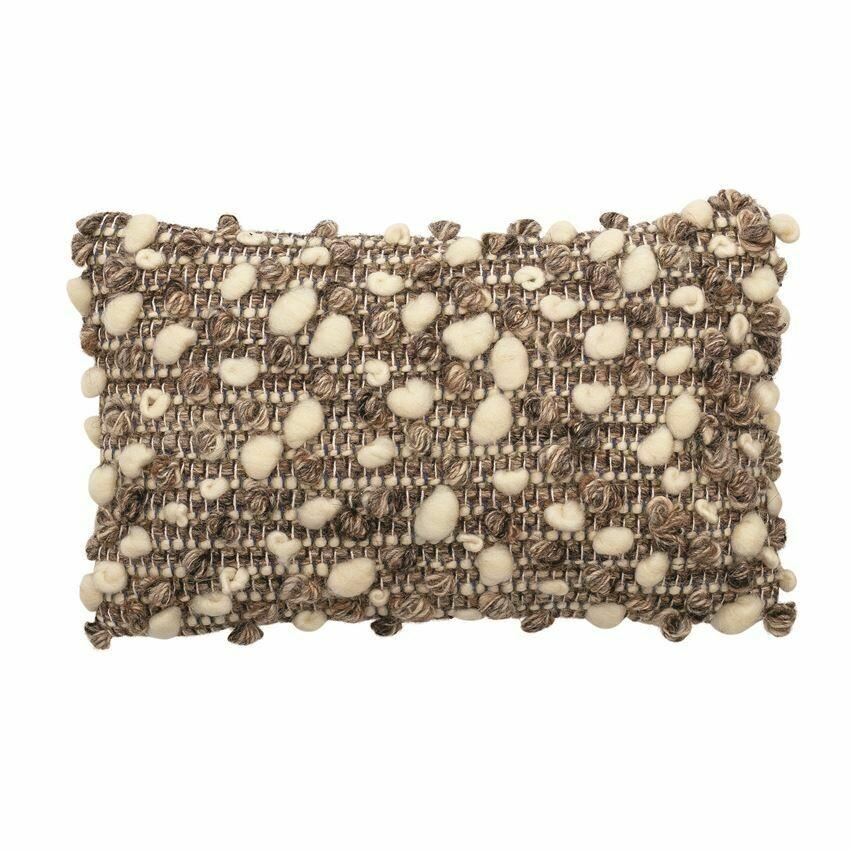 Hand Woven Lumbar Pillow