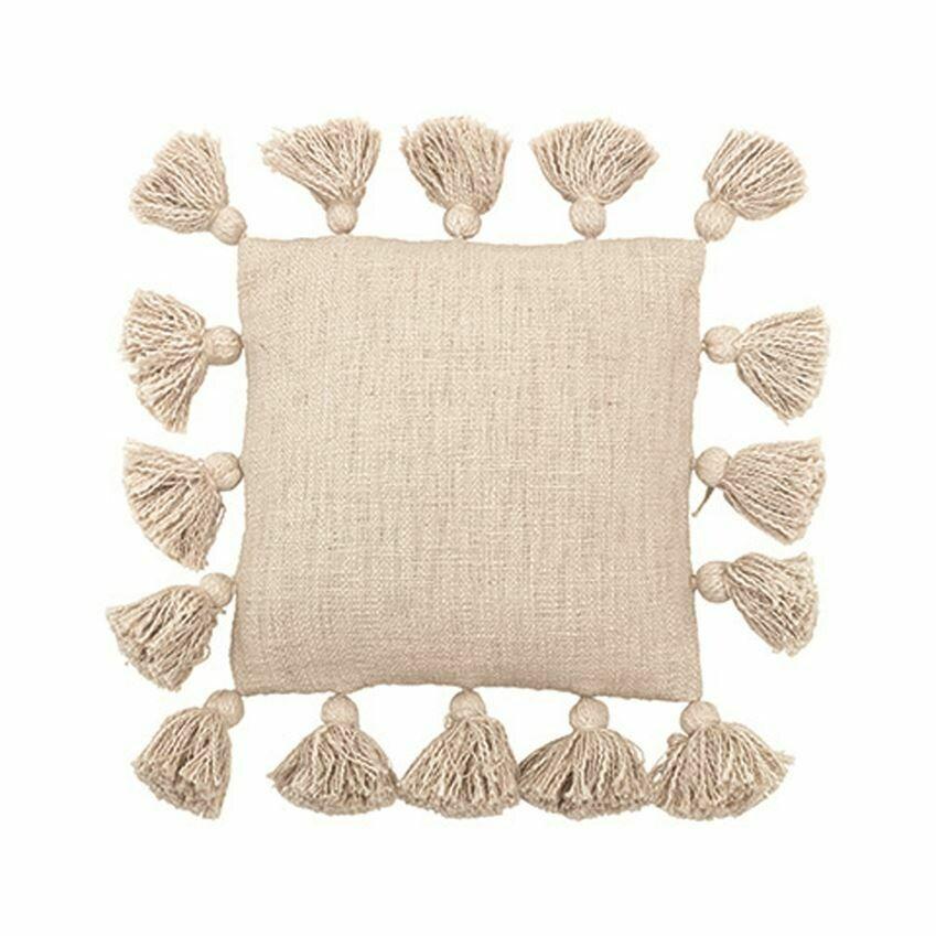 Square Tassel Pillow