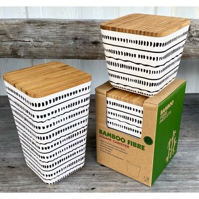 Med Dash Bamboo Storage Container