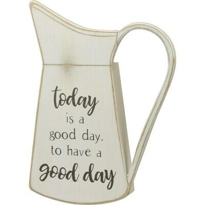 Good Day Pitcher Wall Hanger