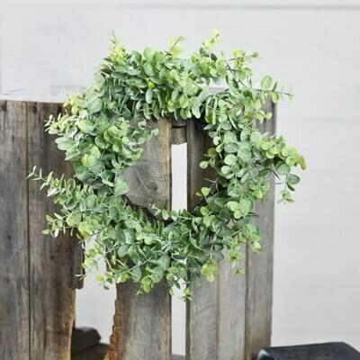 "12"" Eucalyptus Wreath"