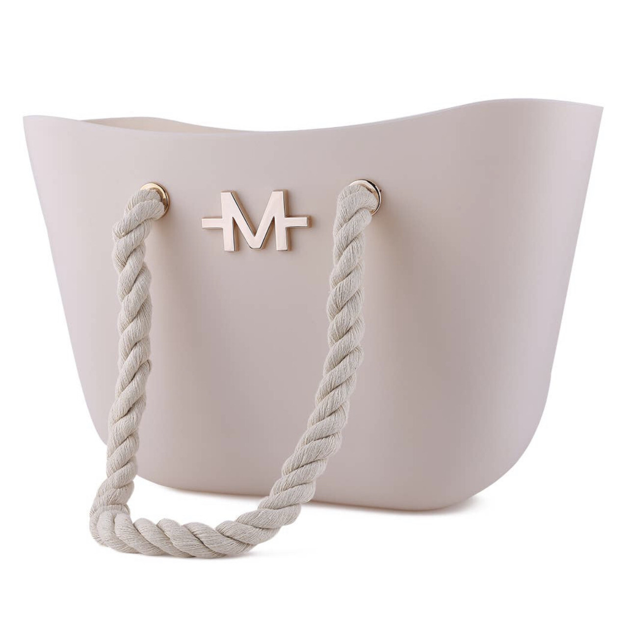 Ivory Silicone Tote