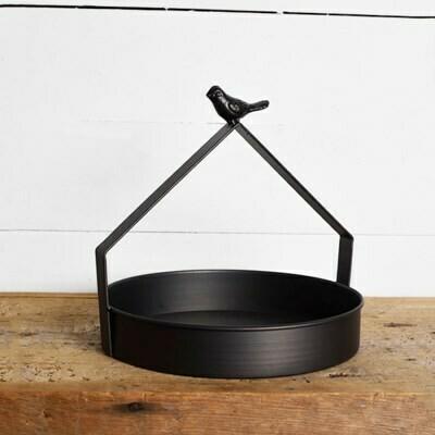 Black Bird Tray