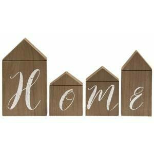 Home Wood House Blocks