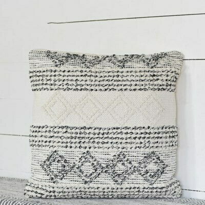 Multi Pattern Square Pillow