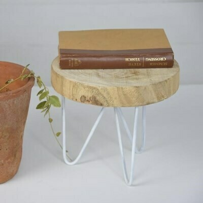 Tall Wood Slice Stand