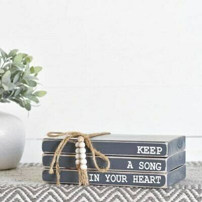 Song in Your Heart Wooden Book Bundle