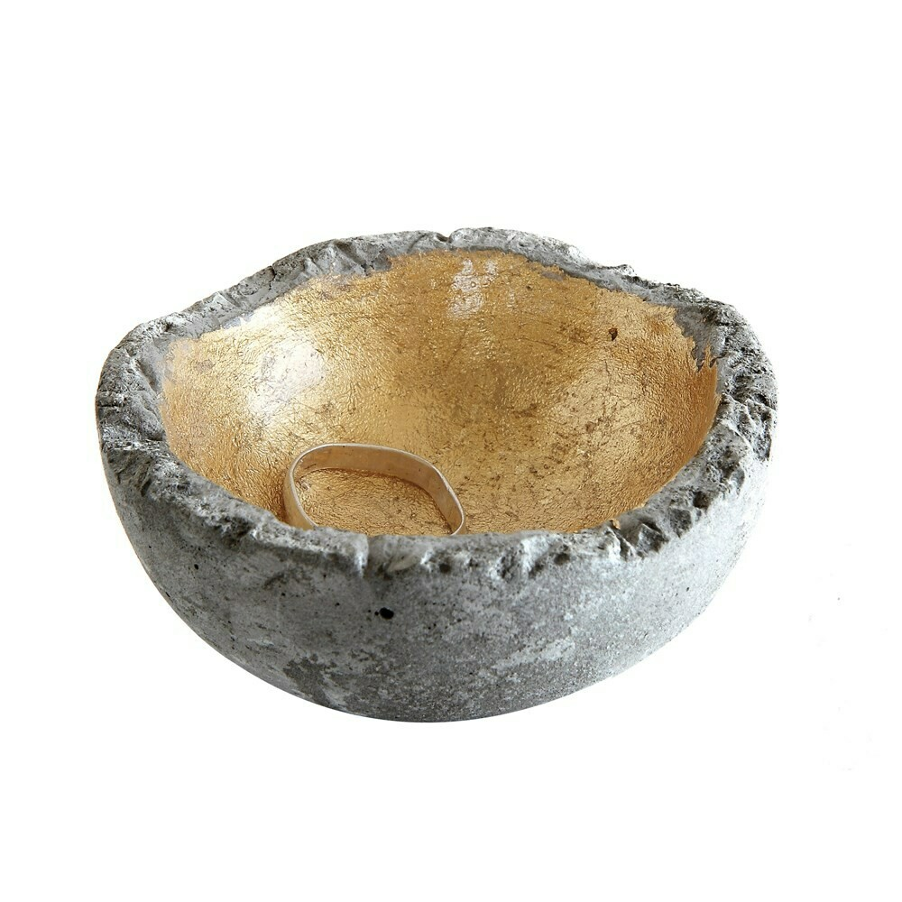 Gold Cement Ring Dish
