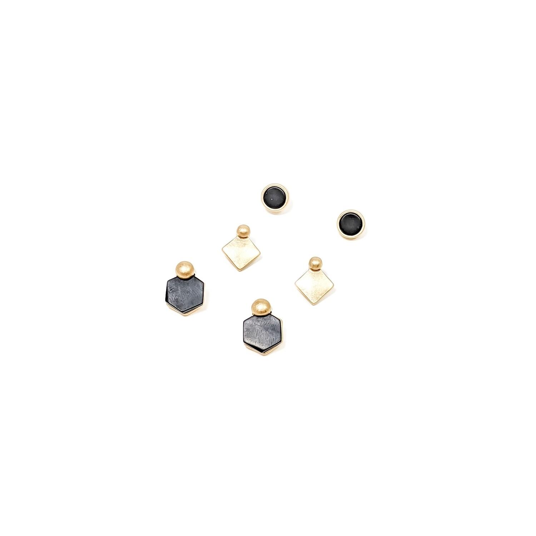 Black Kate Earring Set