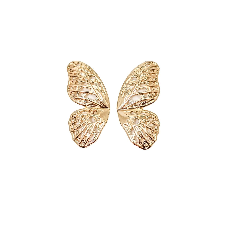 Gold Kani Earrings