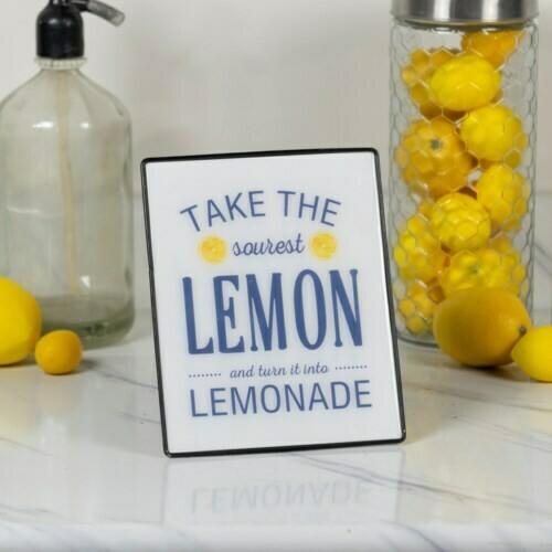 Sourest Lemon Easel Sign