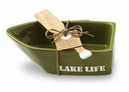 Green Canoe Dip Set