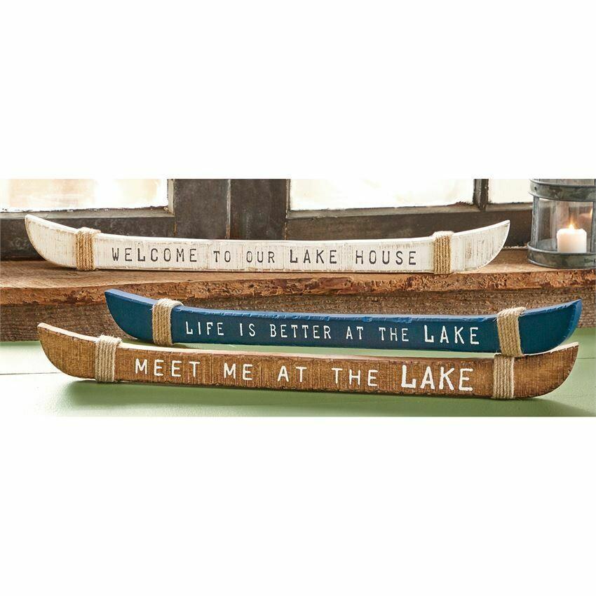 Meet Me at the Lake Sentiment Stick