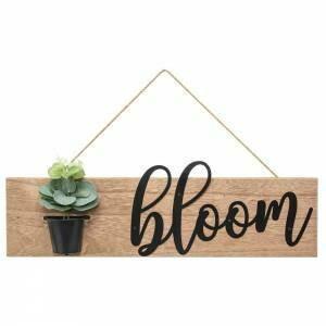 Bloom Flower Pot Wall Hanger