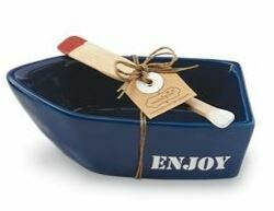 Blue Canoe Dip Set