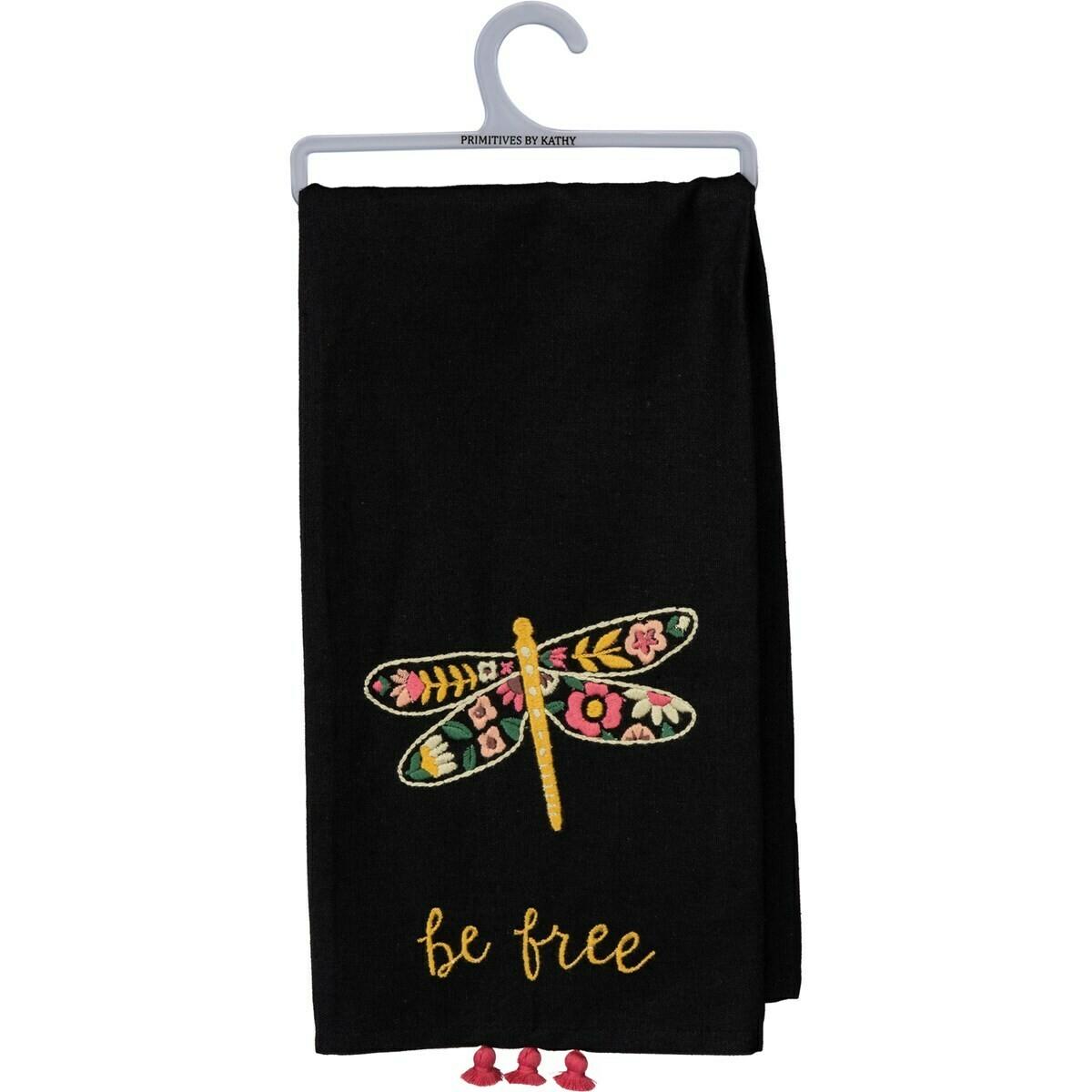 Be Free Tassel Towel