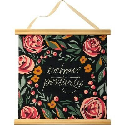 Embrace Positivity Wall Hanging