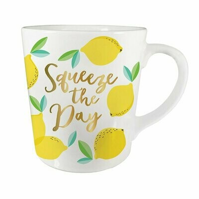 Squeeze the Day Lemon Mug