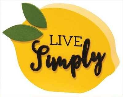 Live Simply Chunky Lemon