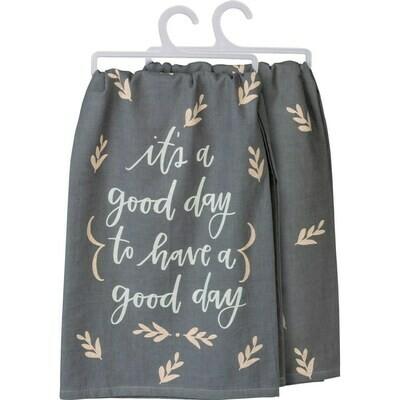 Good Day Dish Towel