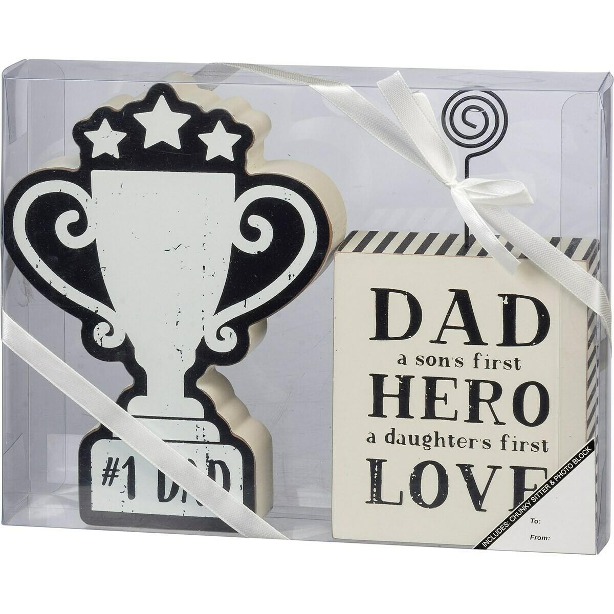 #1 Dad Gift Set