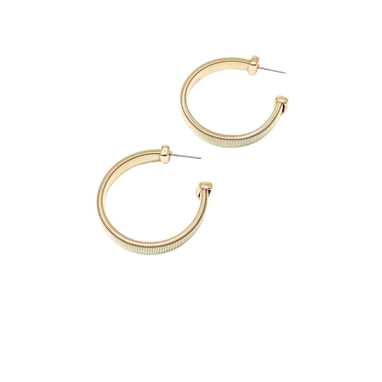 Snakechain Hoop Earrings