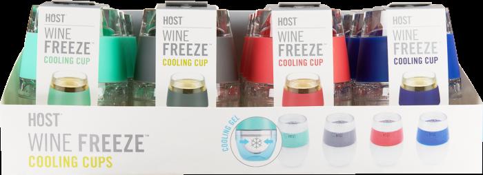 Blue Wine Freeze Cup