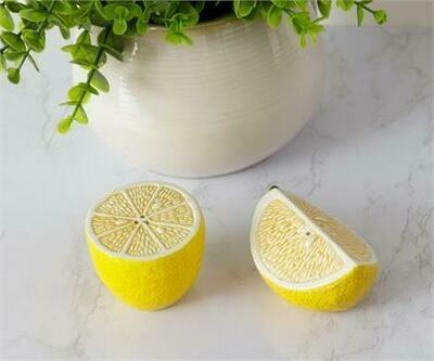 Lemon Slice S&P Shakers