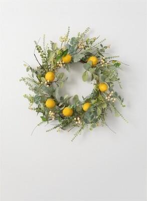 Lemon Herb Wreath