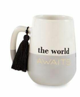 World Awaits Tassel Mug