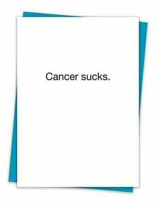 Cancer Sucks Card