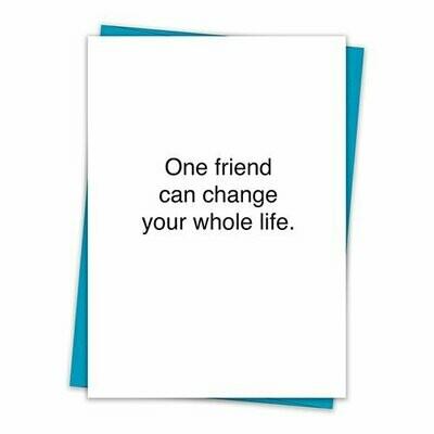 One Friend Card