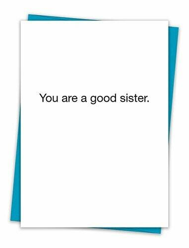 Good Sister Card