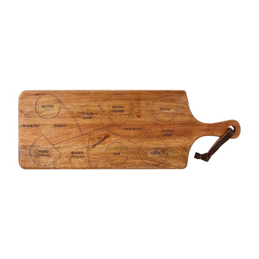 Wooden Charcuterie Serving Board