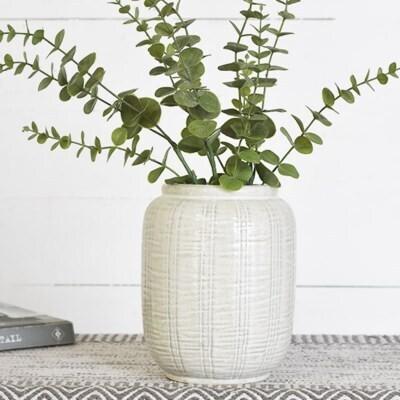 Vertical Stripe Vase