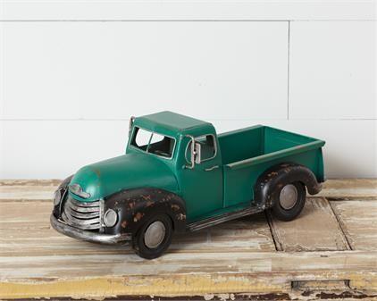 Antique Green Truck