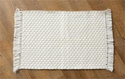 Woven Placemat With Fringe