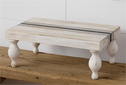 Striped Table Riser