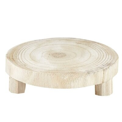 Small Natural Wood Riser