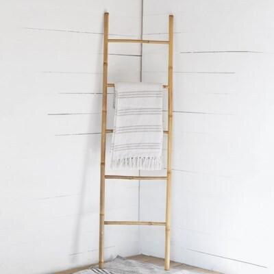 Natural Bamboo Ladder