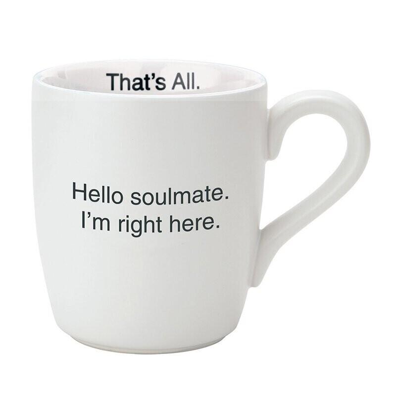 Hello Soulmate Mug