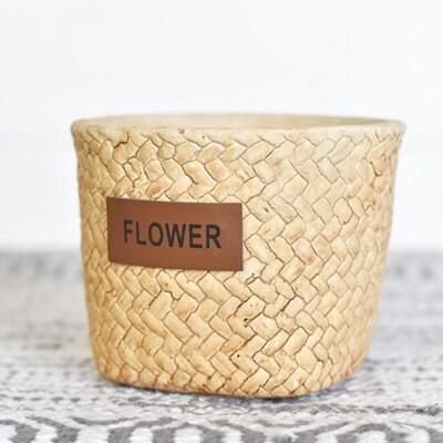 Sm Cement Flower Planter