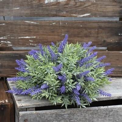 Purple Flower Half Orb